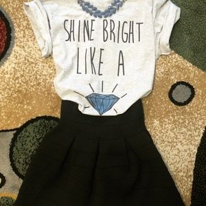 Shine Bright Like Diamond Fashion Women's T-Shirt